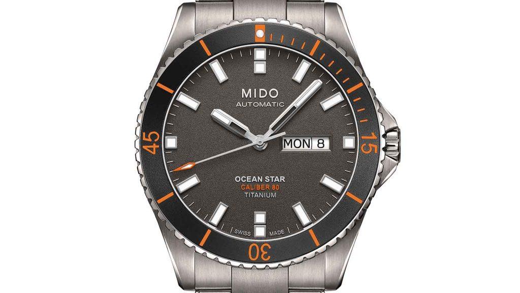 MIDO_ Ocean Star Captain Titanium