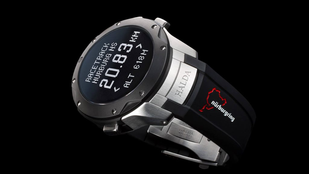 HALDA WATCH CO Race Pilot Nuerburgring Limited Edition