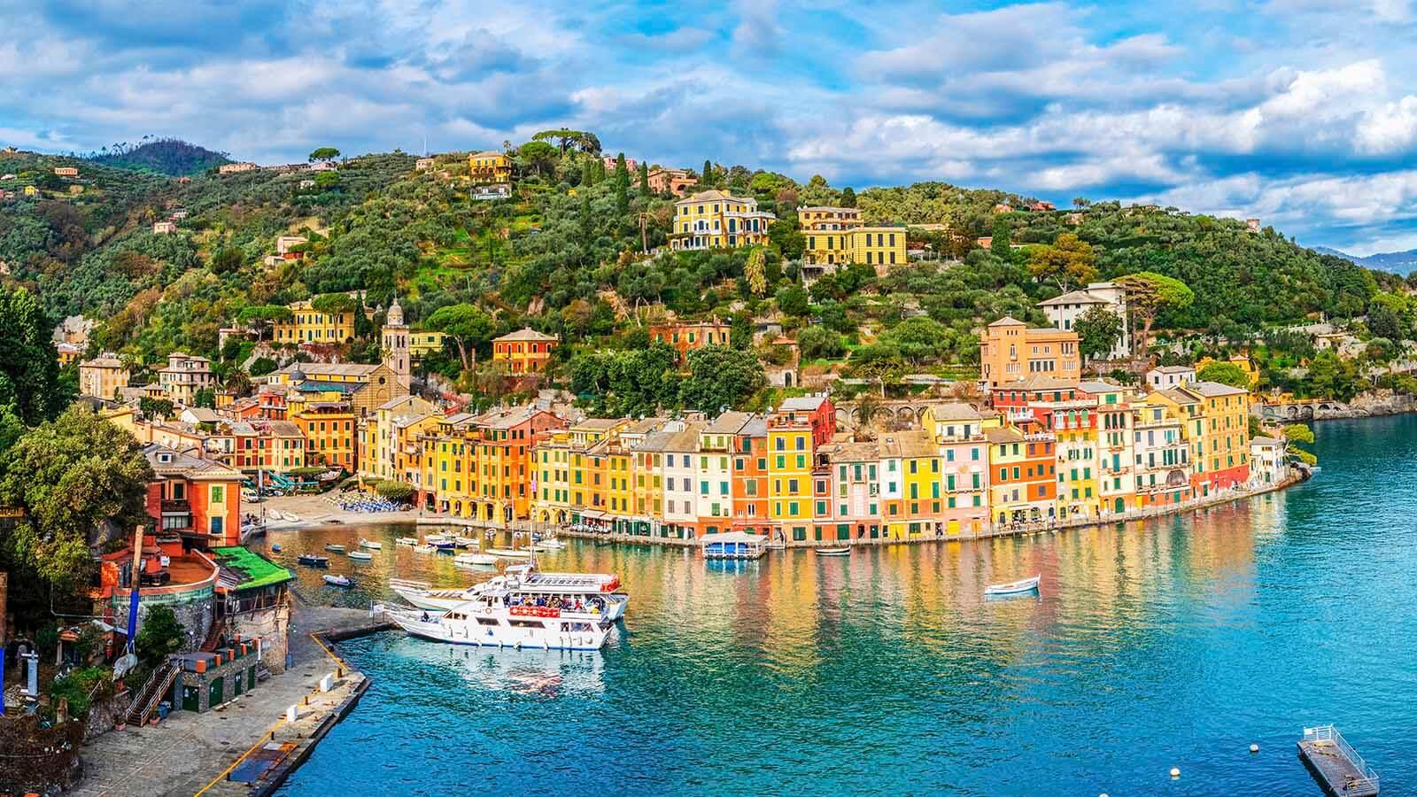 Portofino in der Nähe von Genua
