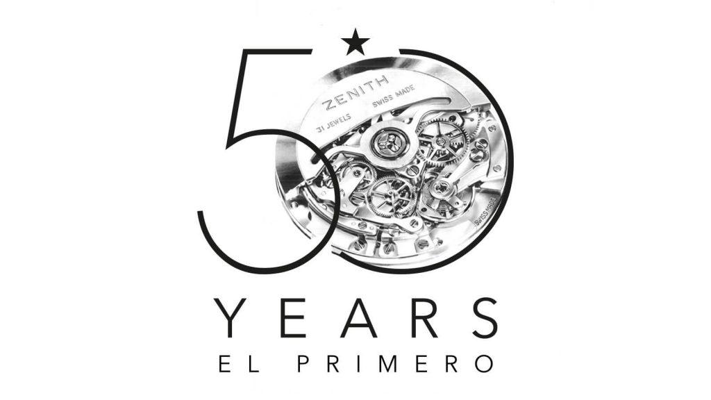 50 Jahre El Primero Logo adaptiert