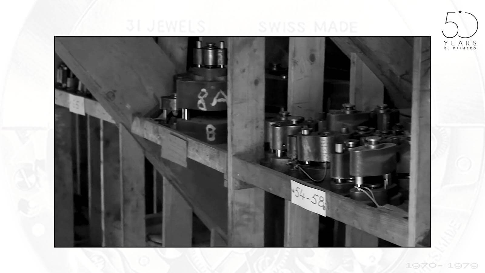 Werkzeuge zur Produktion des El Primero