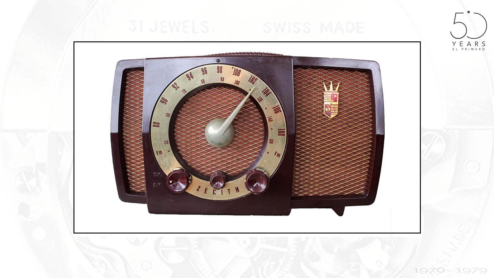 Radio, wie er zu der Zeit von der Zenith Radio Corportion