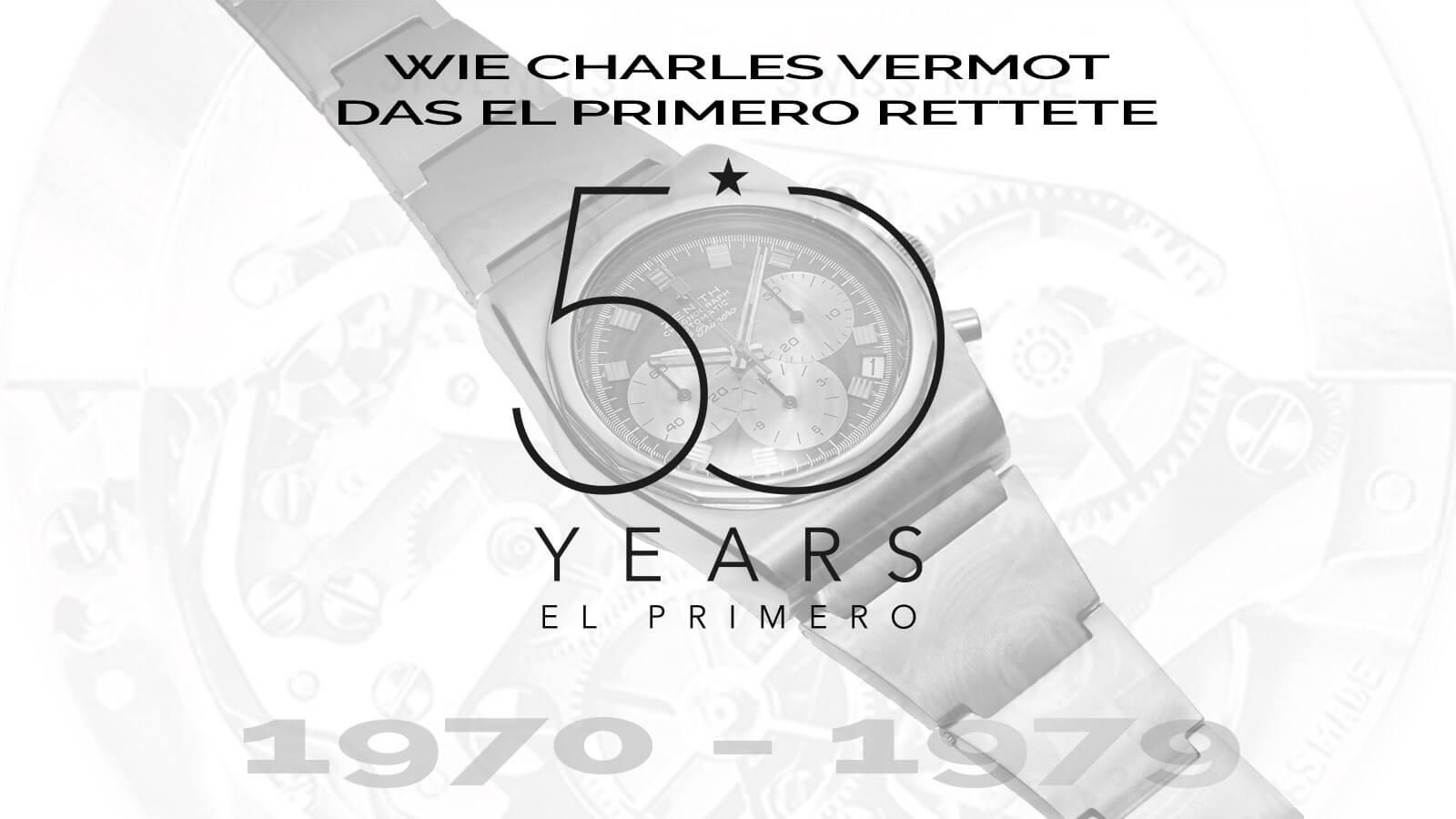 Startbild El Primero 1970 bis 1979