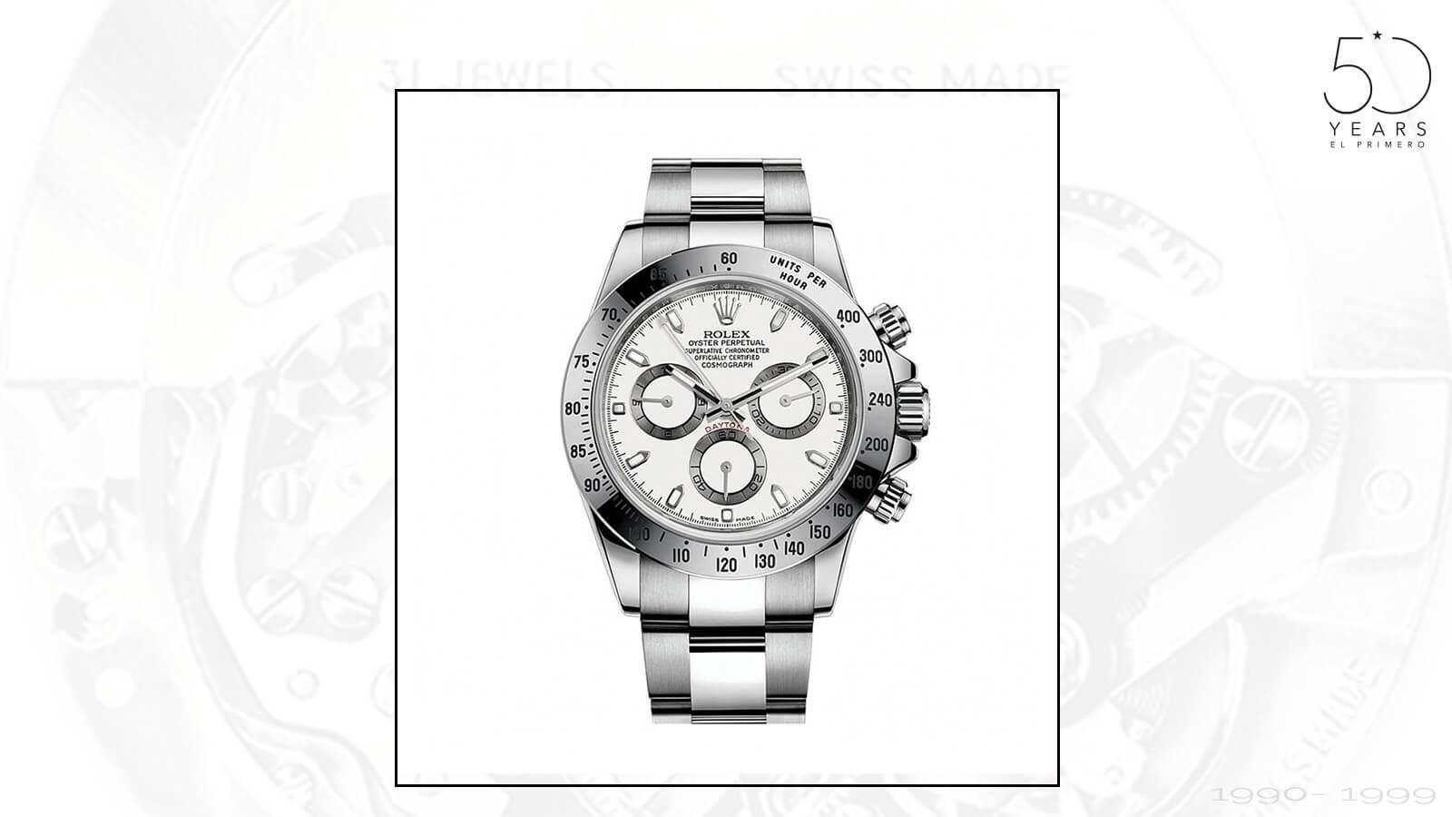 Rolex Daytona mit El Primero Kaliber von ZENITH