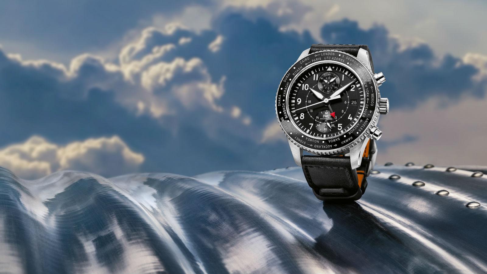 IWC Schaffhausen - Pilot's Watch Timezoner Chronograph