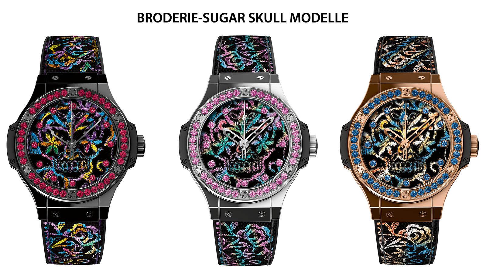 Hublot - Big Bang Broderie Sugar Skull