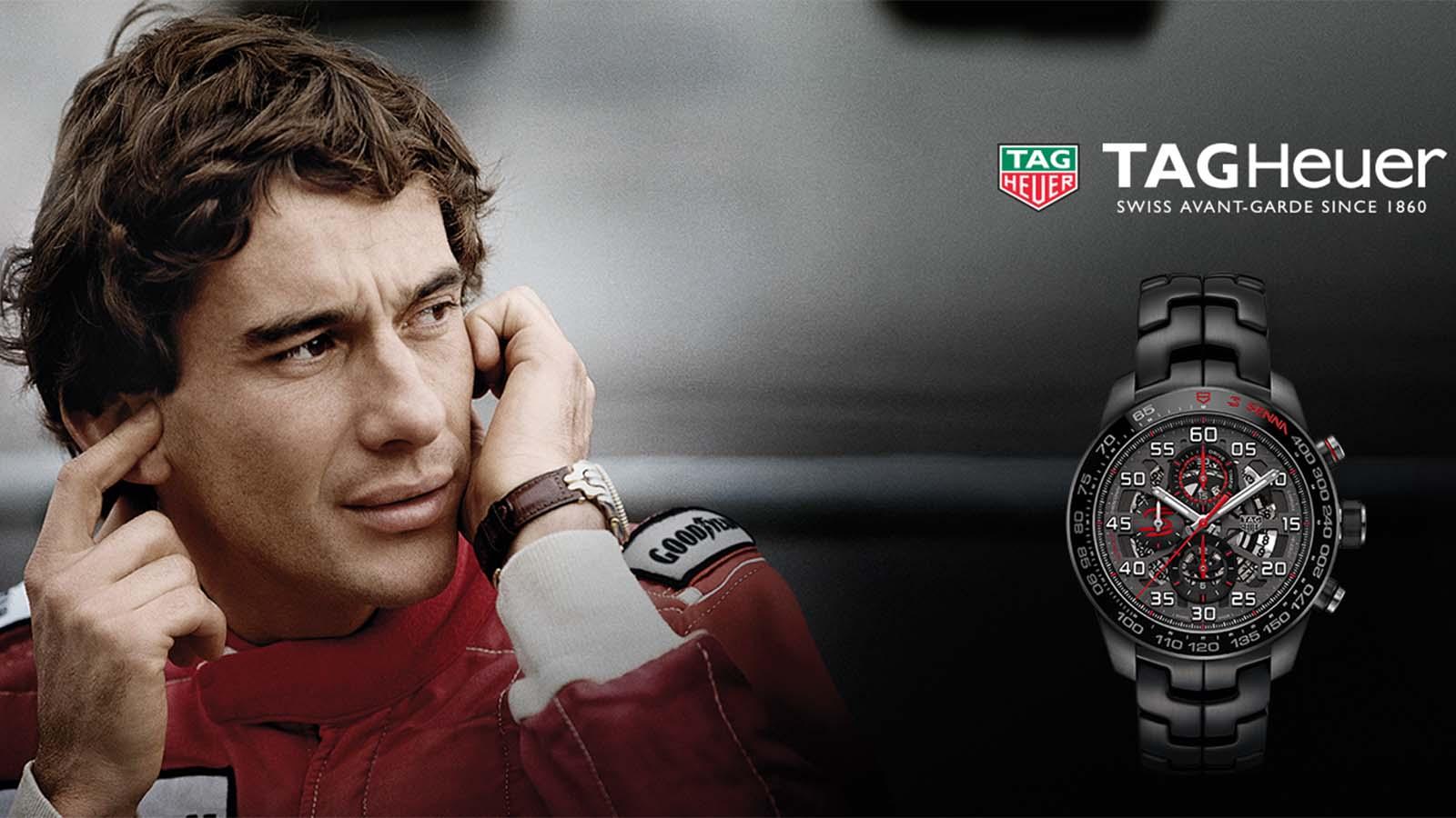 TAG Heuer Carrera Heuer-01 Ayrton Senna