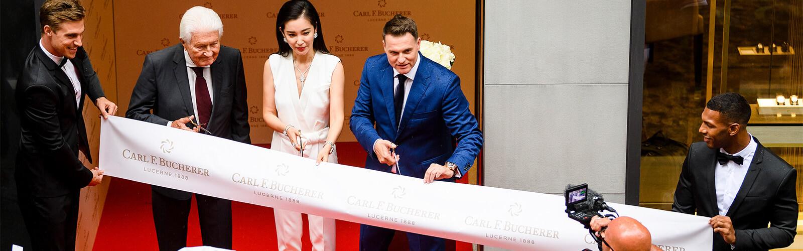 CARL F BUCHERER Boutique Openening Luzern