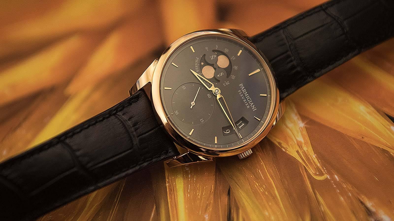 PARMIGIANI FLEURIER Tonda 1950 Lune, eleganten Uhr für Herren