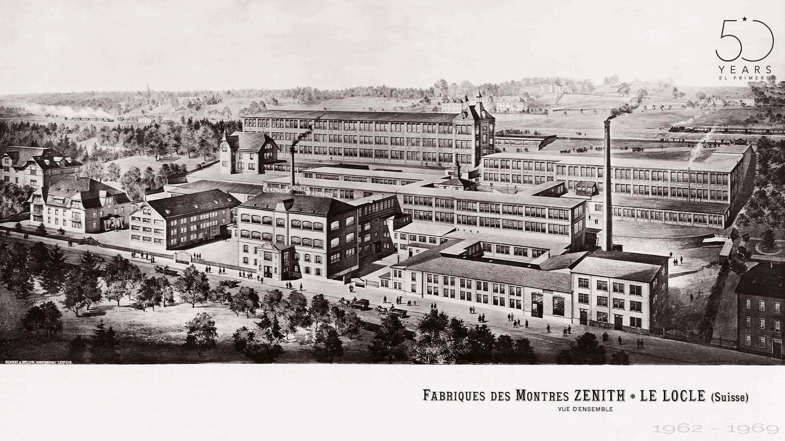 ZENITH Manufaktur in Le Locle
