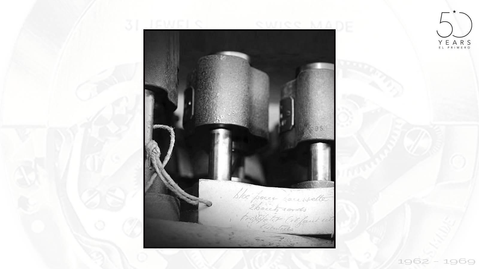 Senk-Werkzeuge für El Primero von Zenith um 1969