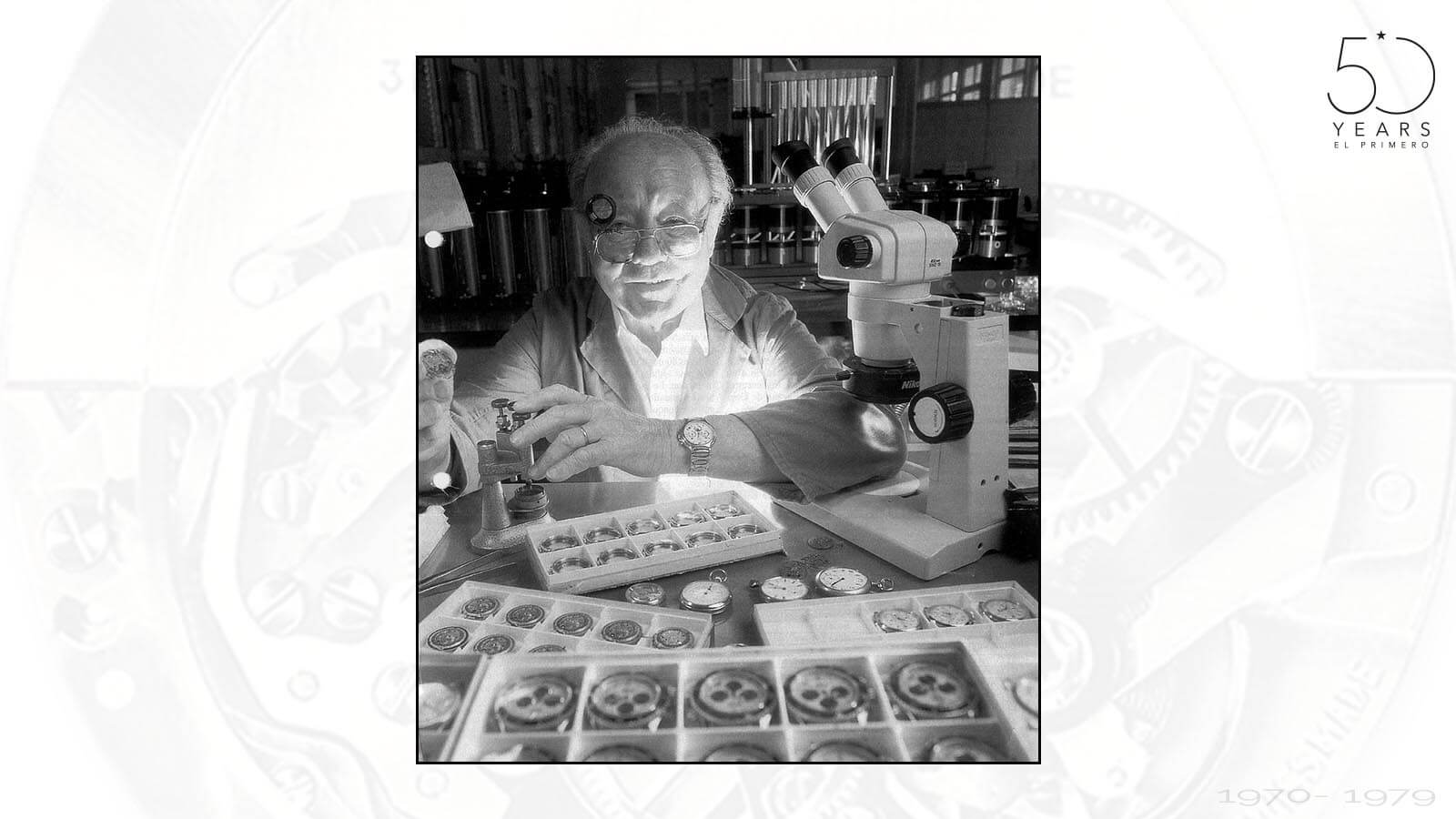 Charles Vermot, der Retter und Bewahrer des El Primero Werks von Zenith