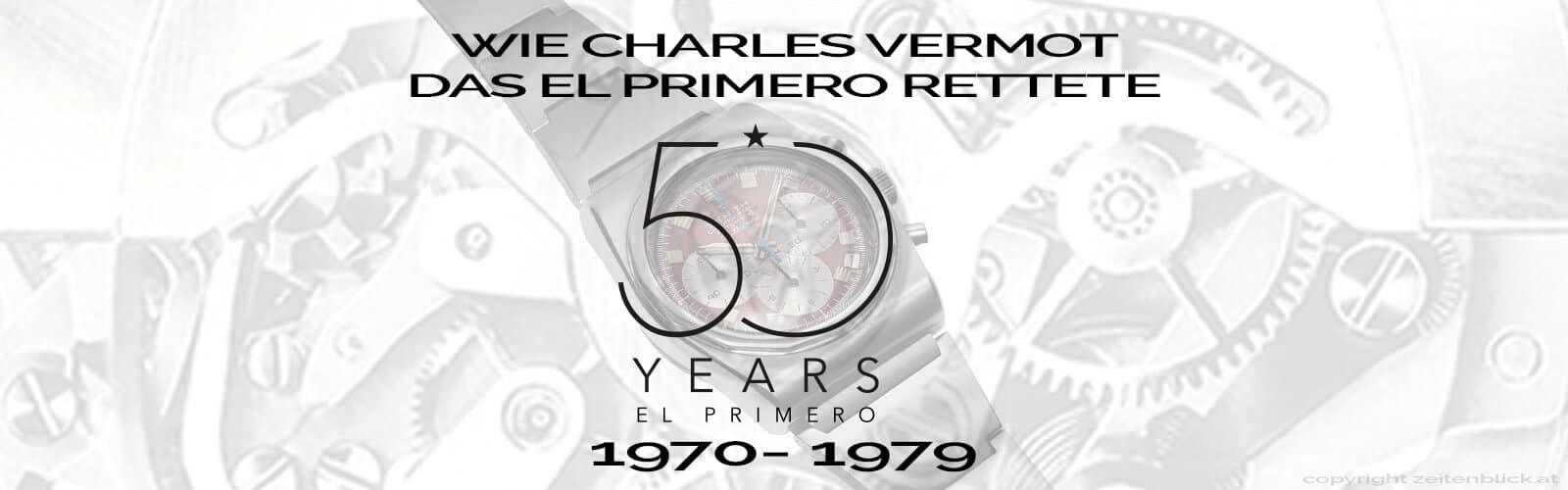 Header El Primero 1970 bis 1979