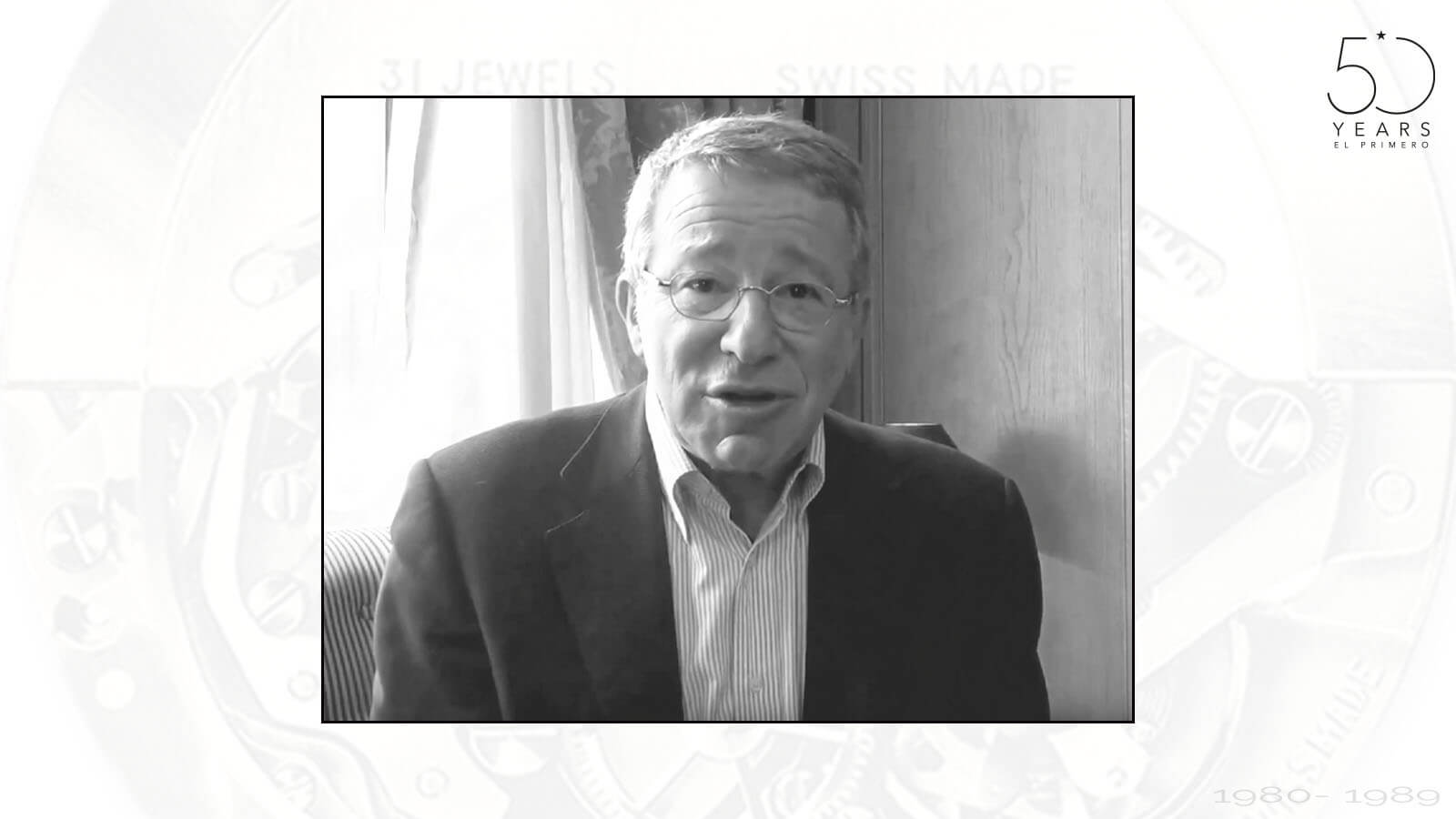 Pierre-Alain Blum, der damalige CEO von Ebel