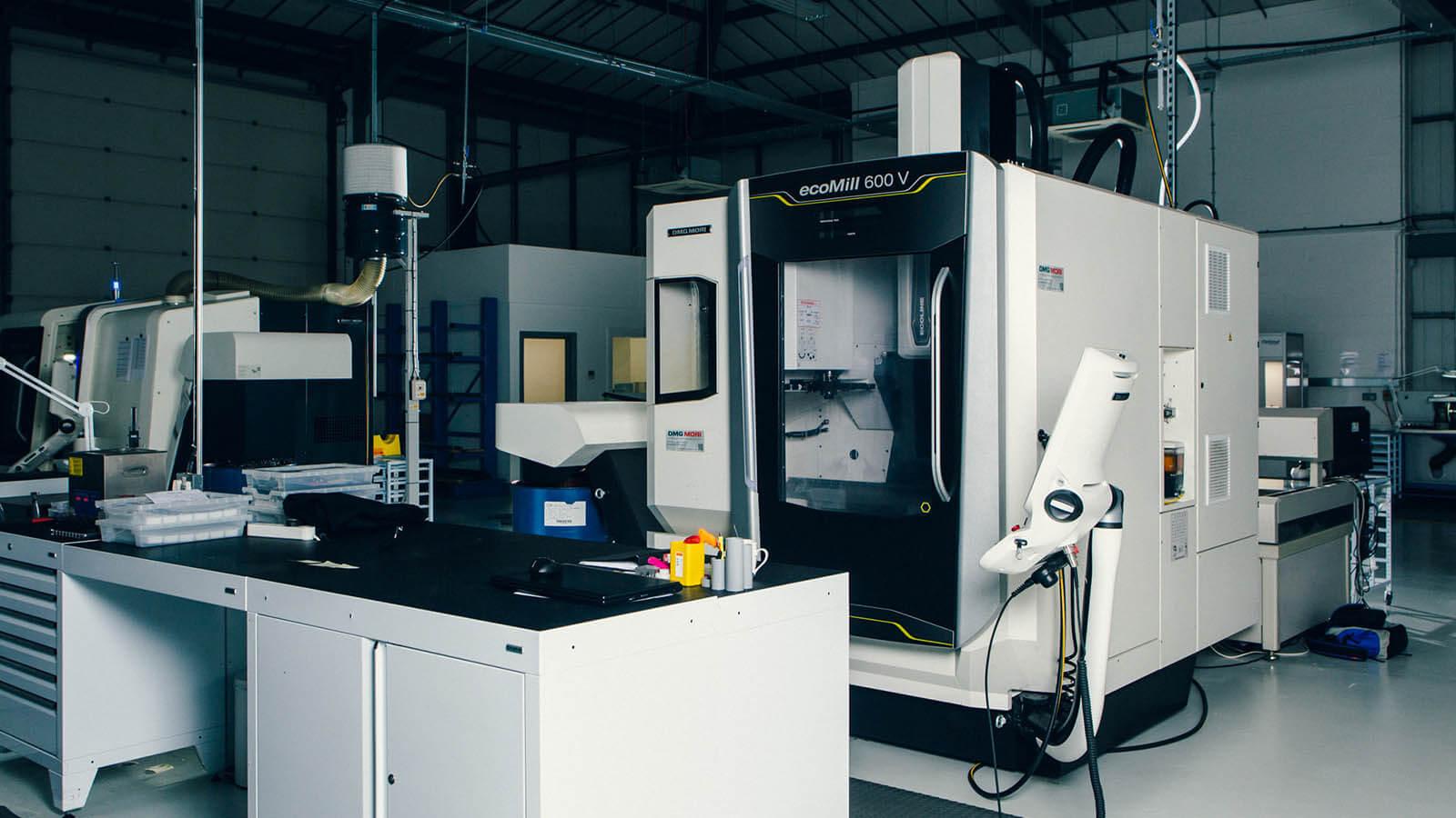 Maschinen zur Zertifizierung der Uhren von Bremont