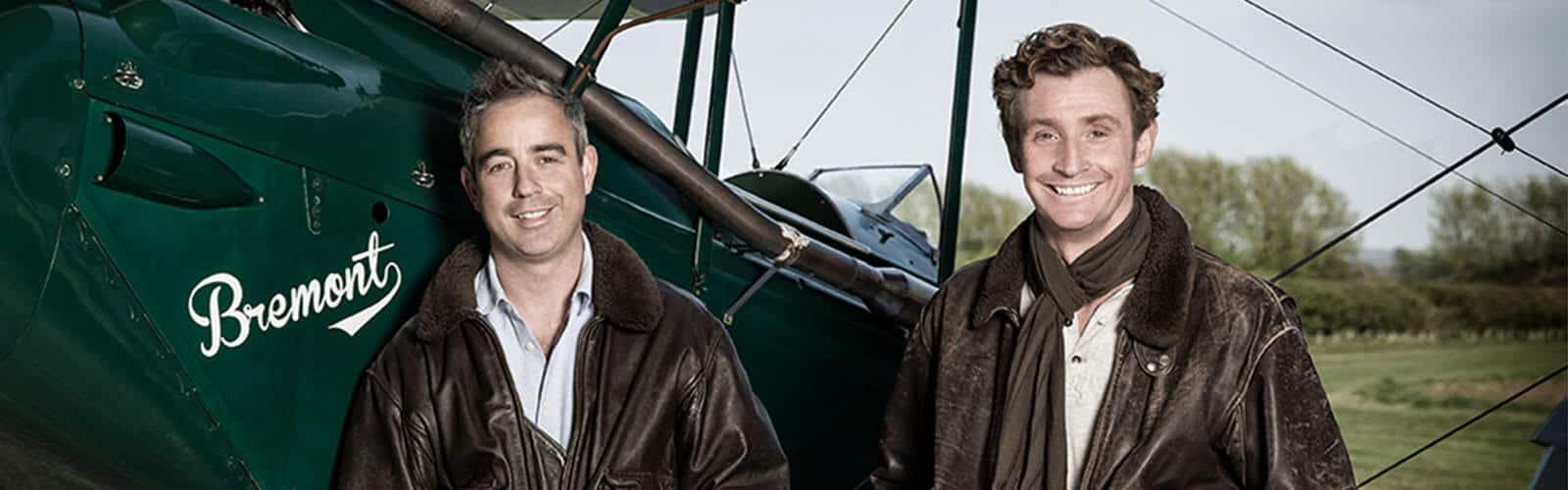 Die beiden Gründer von Bremont links Giles English und rechts Nick English