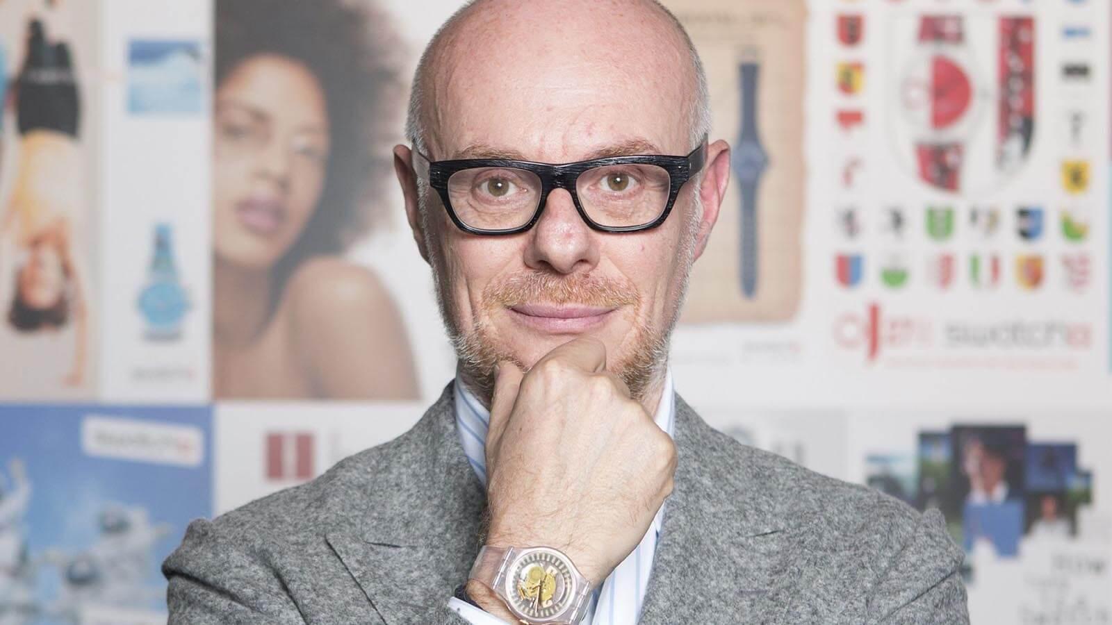 Carlo Giordanetti, Creative Director von Swatch