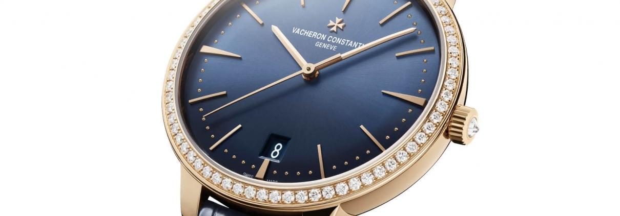 VACHERON CONSTANTIN Patrimony Automatik aus 18-Karat 5N Roségold und Lünette mit 69 Diamanten (RFZ. 85515/000R-B644)