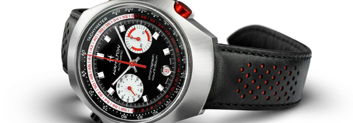HAMILTON Chrono-Matic 50 mit Countdown-Funktion