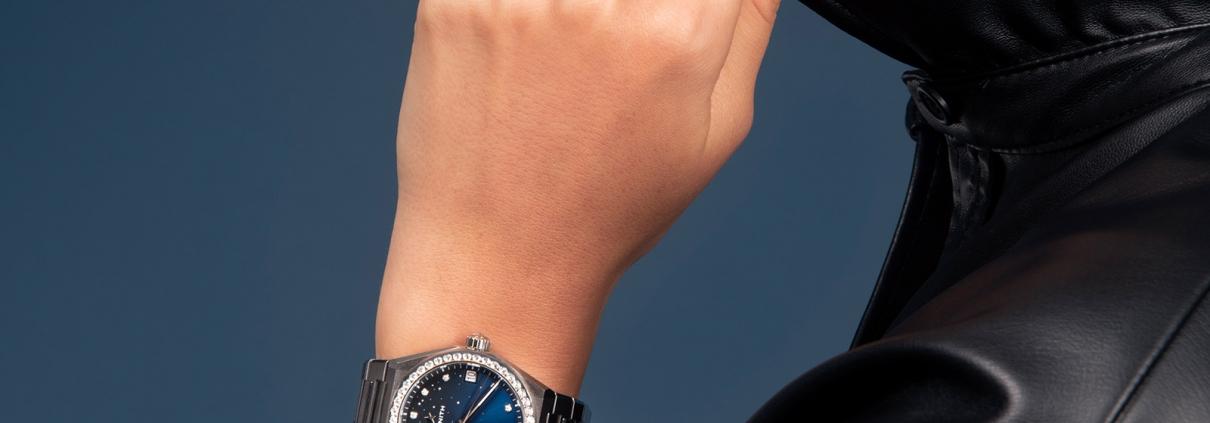 ZENITH Defy Midnight Eleganz und Sportlichkeit in einer Uhr
