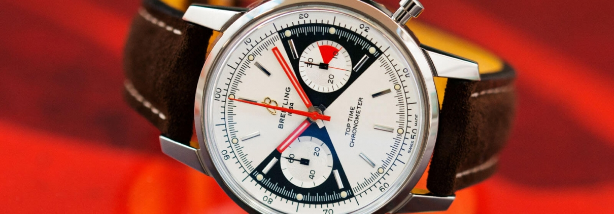 Top Time Chronograph von Breitling