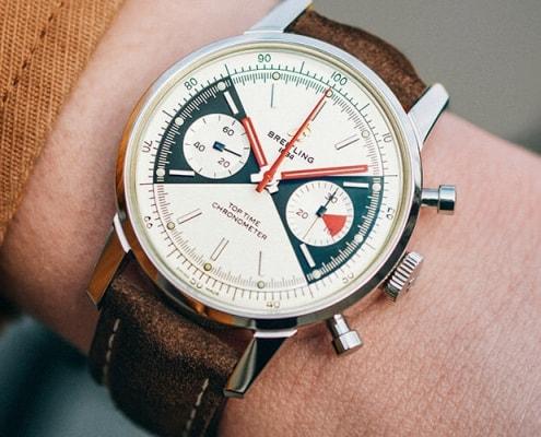Neuer limitierter Chronograph Top TIme von Breitling in limitierter Stückzahl