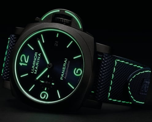 OFFICINE PANERAI Luminor Marina Titanio PAM01117 Header4