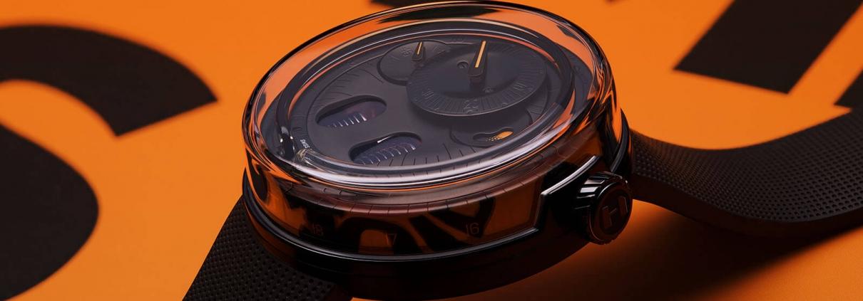 H0 von HYT Anzeige der Zeit mittles Fluid-Modul