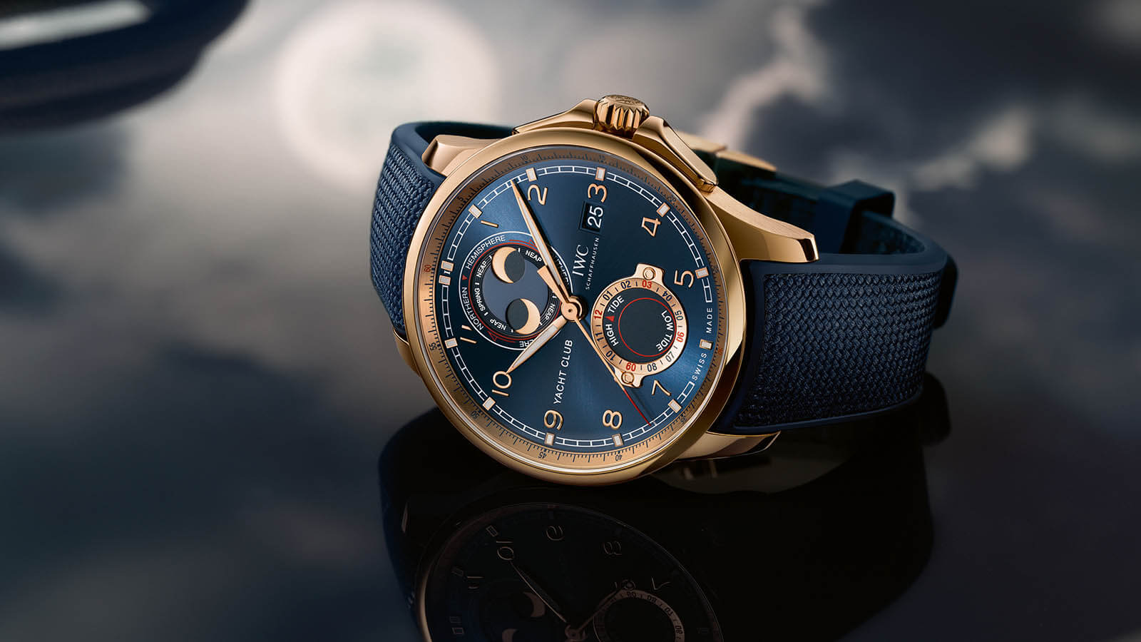 IWC SCHAFFHAUSEN Portugieser Yacht Club Moon & Tide 2020 Mood