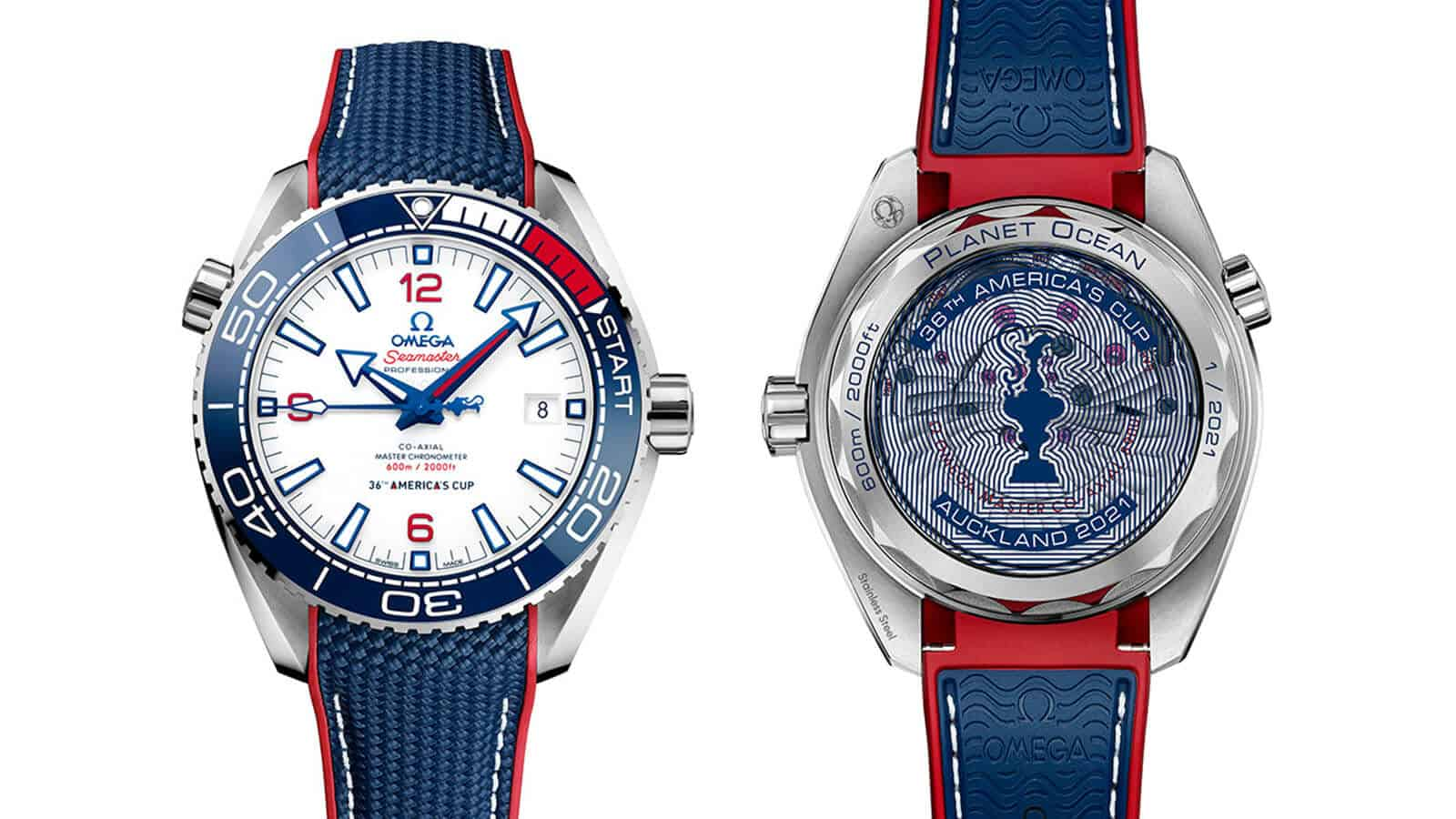 OMEGA Seamaster Planet Ocean 36th-America´s-Cup Limited Edition