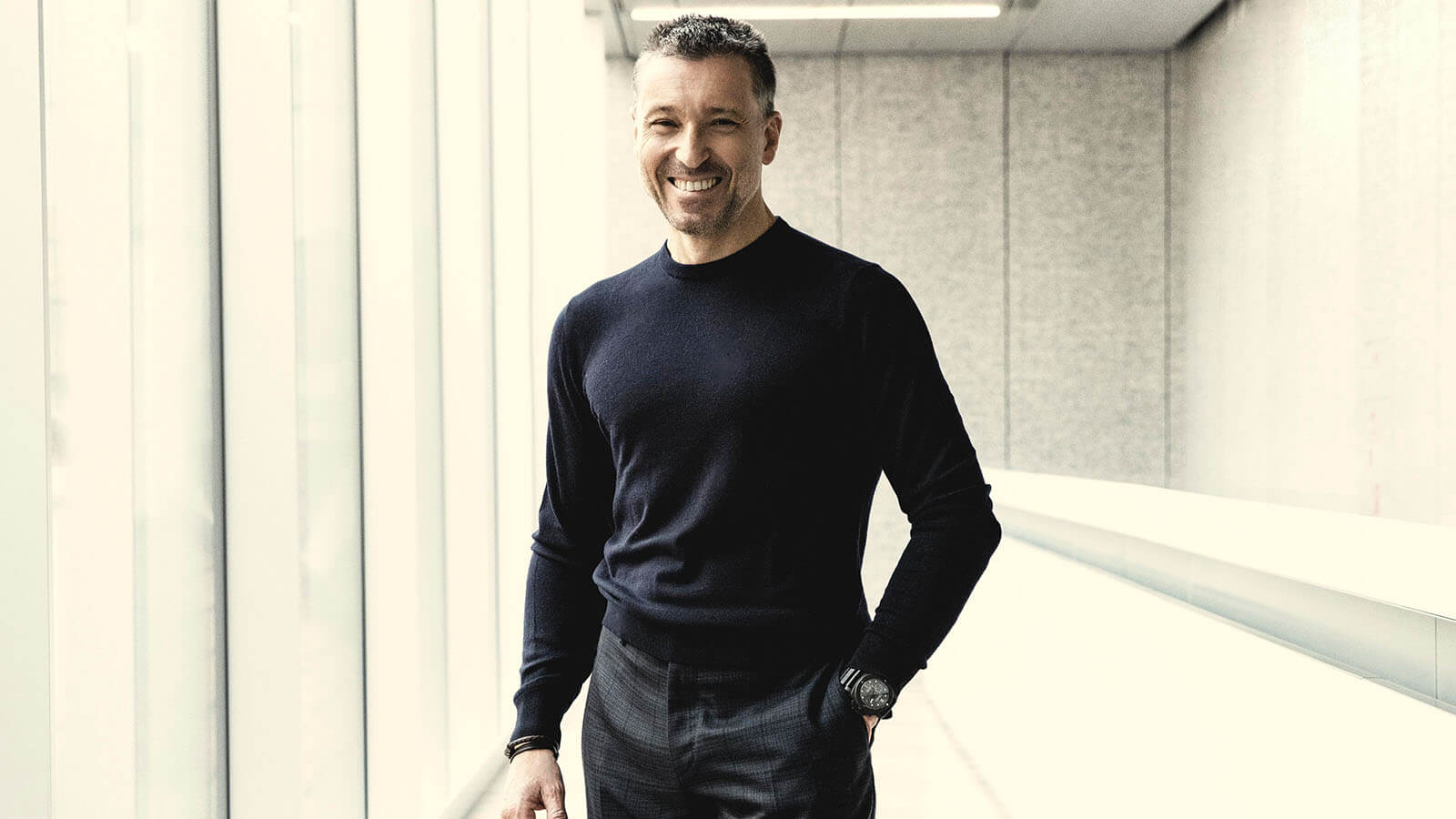 Jean-Marc Pontroué, CEO von OFFICINE PANERAI