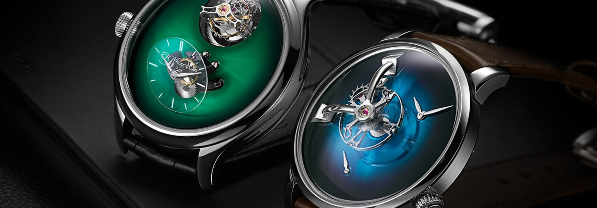 H.MOSER UND MBF Endeavour Cylindrical Tourbillon and LM101