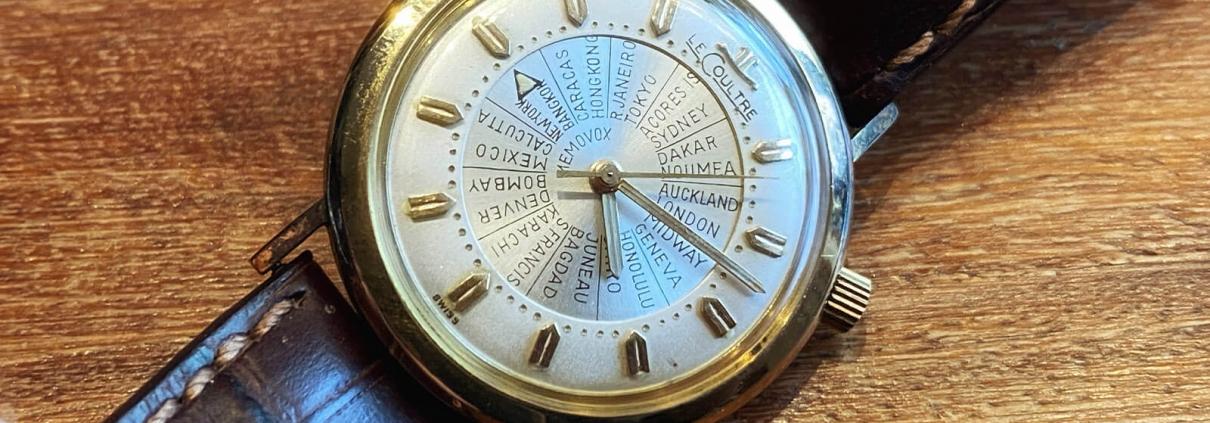 JAEGER LECOULTRE Memovox , Uhr mit mechanischer Weckfunktion, circa 1960er Jahre