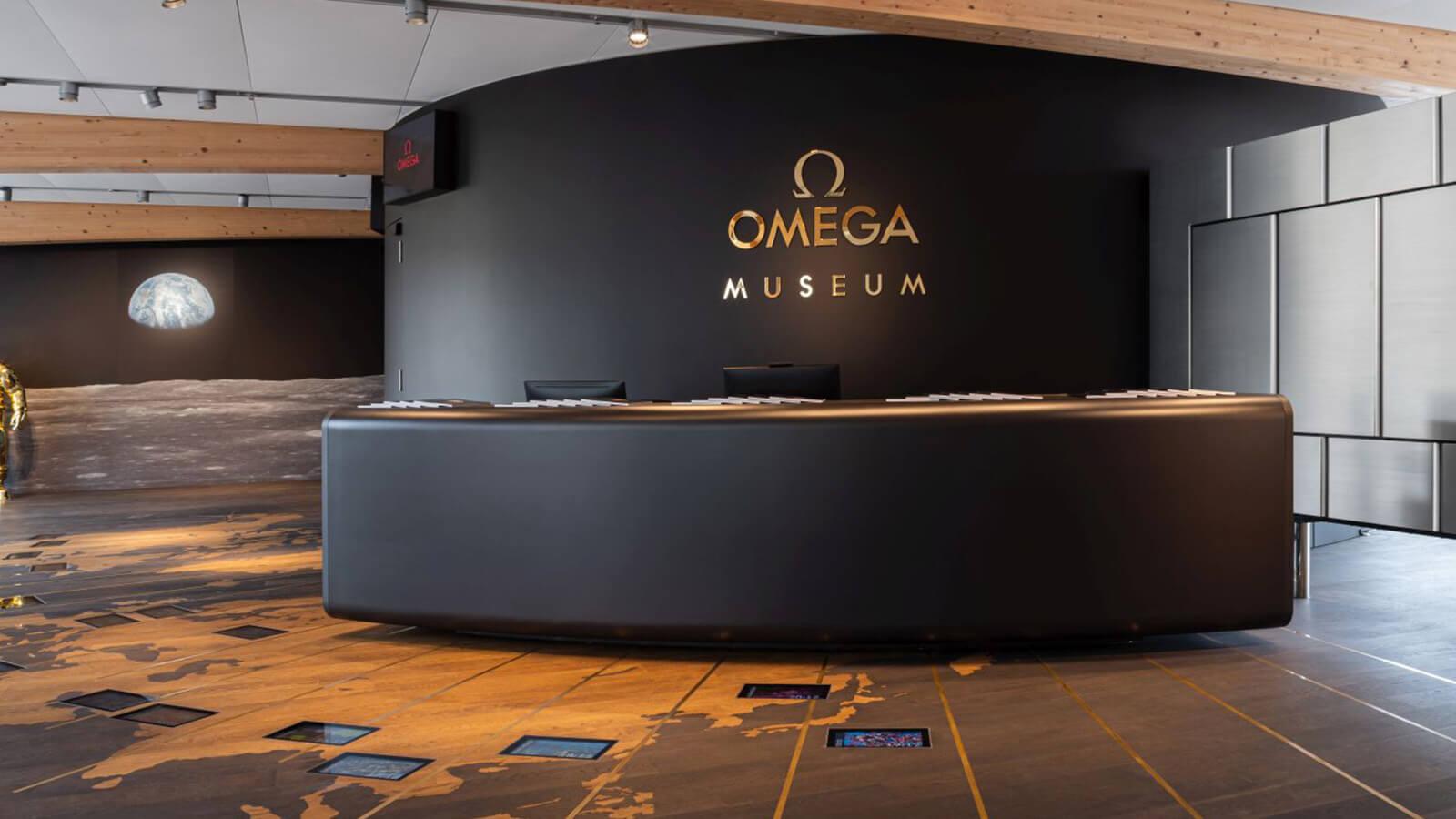 """OMEGA Museum am am Campus """"La Cité du Temps"""" in Biel/Bienne"""