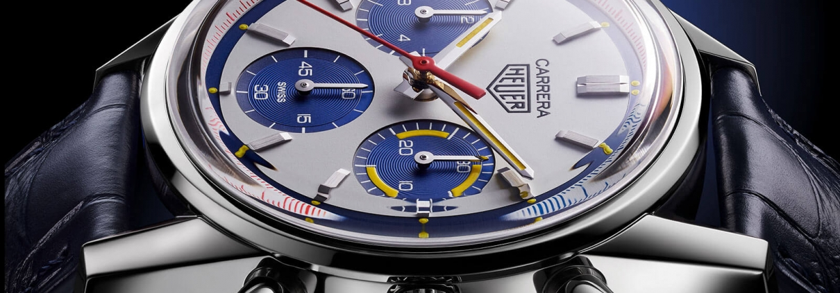TAG Heuer CARRERA, Calibre Heuer 02, Automatik – 160 Years Montreal Limited Edition