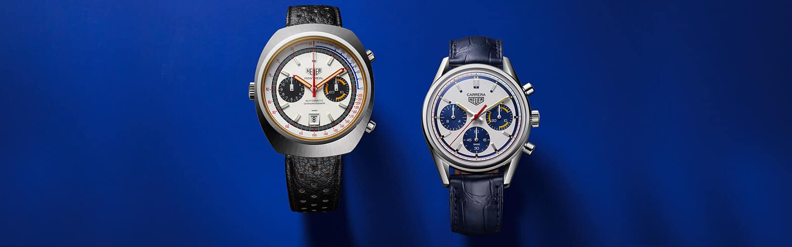 TAG Heuer CARRERA, Calibre Heuer 02, Automatik – 160 Years Montreal Limited Edition, Header1
