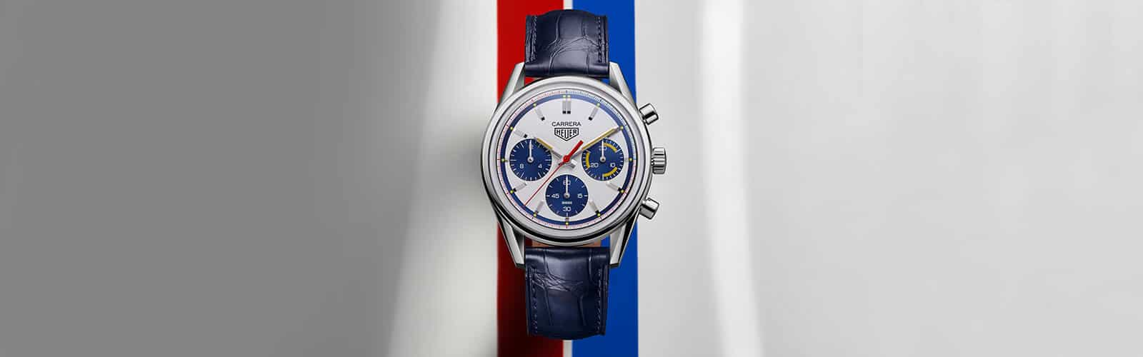 TAG Heuer CARRERA, Calibre Heuer 02, Automatik – 160 Years Montreal Limited Edition, Header2