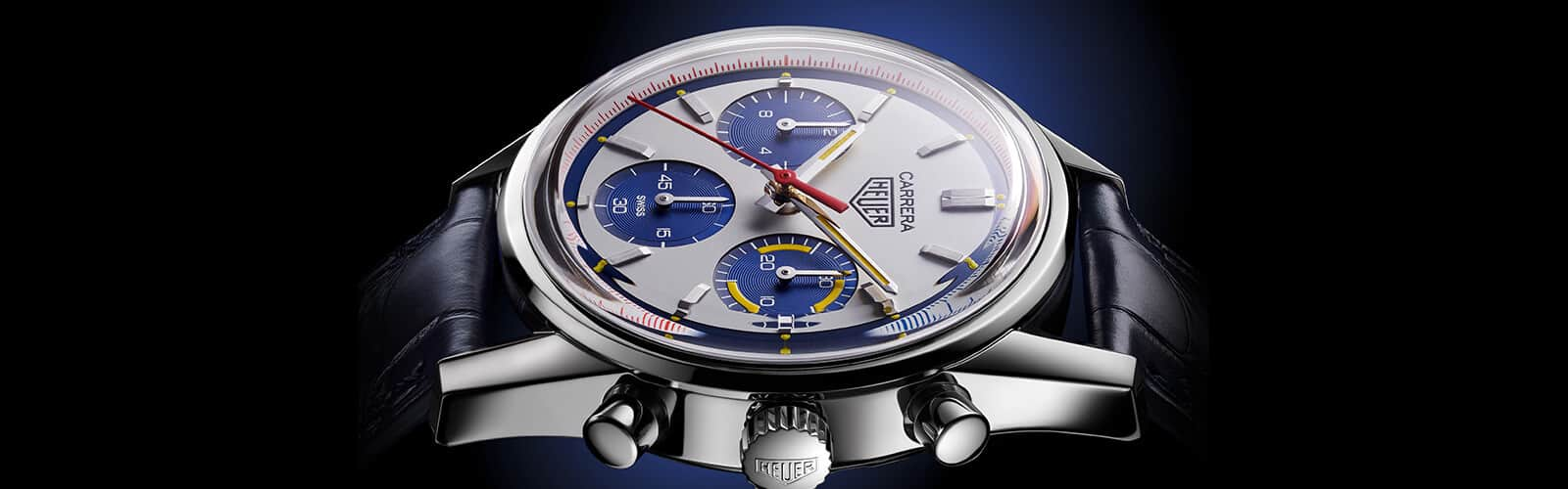 TAG Heuer CARRERA, Calibre Heuer 02, Automatik – 160 Years Montreal Limited Edition, Header3