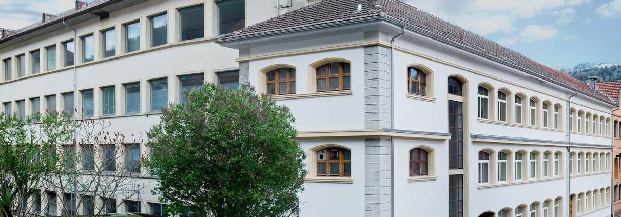Maunfakturgebäude der unabhängigen Uhrenmarke ZEITWINKEL.CH