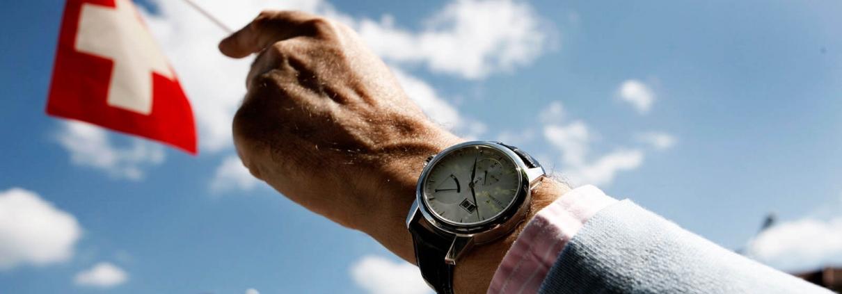 SWISS MADE Uhr von ZEITWINKEL