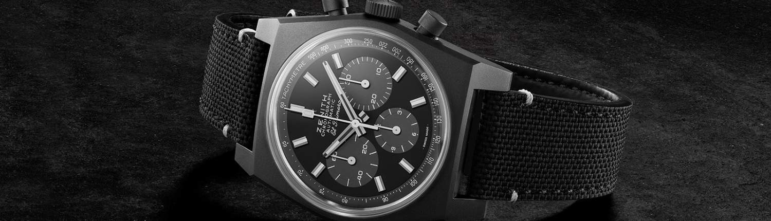 "ZENITH Chronomaster Revival ""Shadow""Header 2"