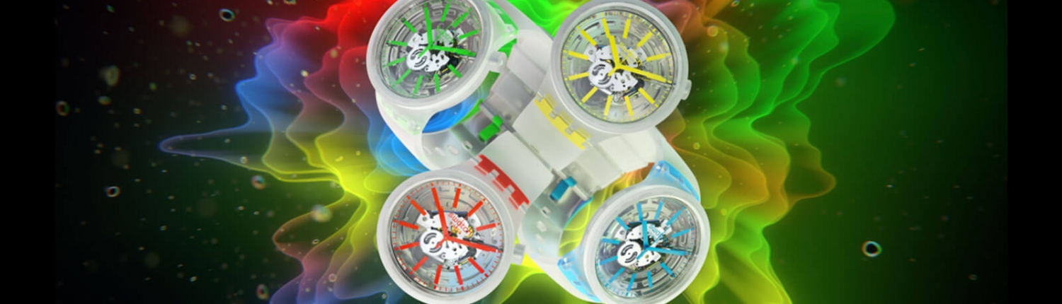 SWATCH Big Bold Jelly Modelle