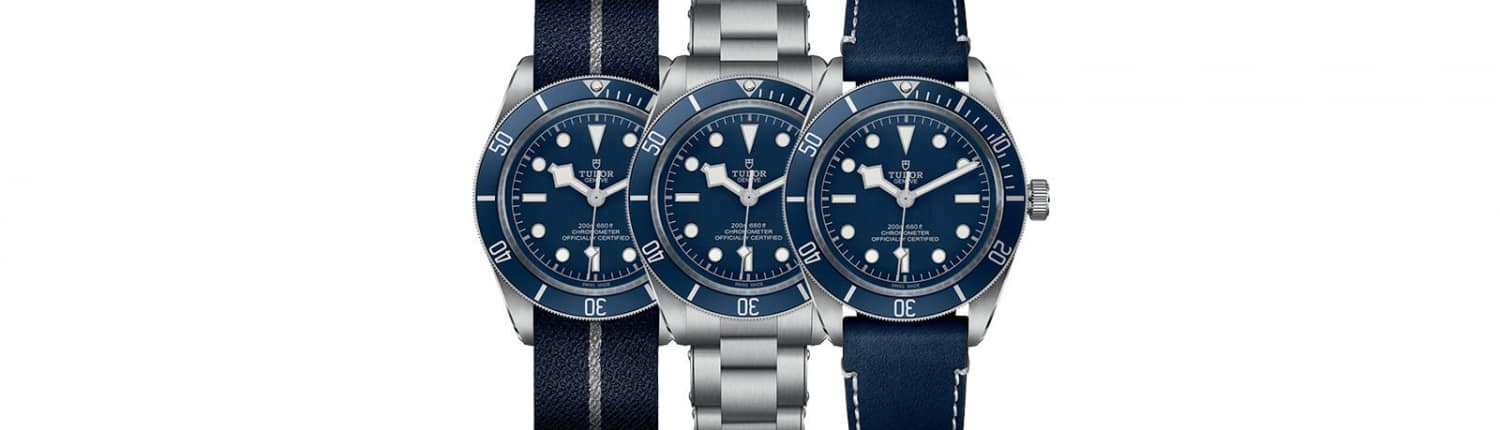 TUDOR Black Bay 58 Navy Blue Header1