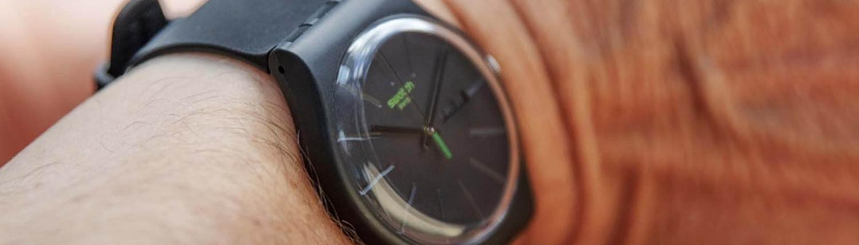 SWATCH 1983-2020 Bio-Reloaded. Swatch greift bei der Produktion der neuen Modelle auf biologisch abbaubare Komponenten