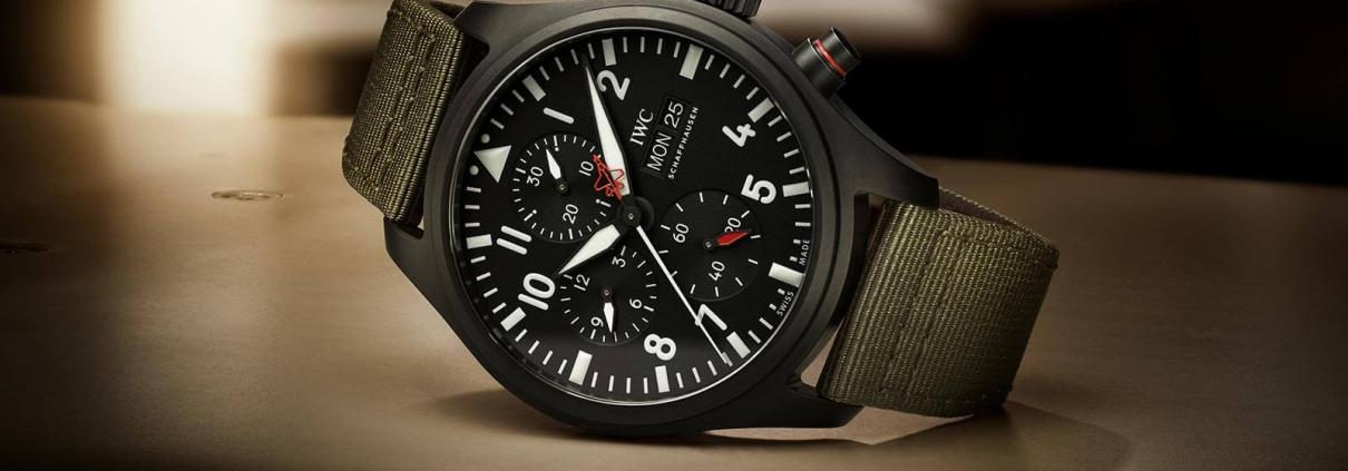 IWC SCHAFFHAUSEN Pilots Watch Chronograph Top Gun Edition SFTI