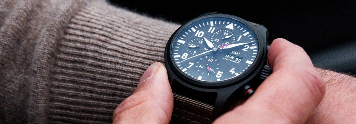 IWC SCHAFFHAUSEN Pilots Watch Chronograph Top Gun Edition SFTI