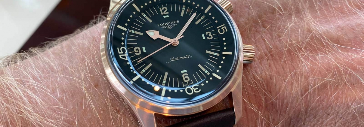 ONGINES Lgend Diver Watch Bronze