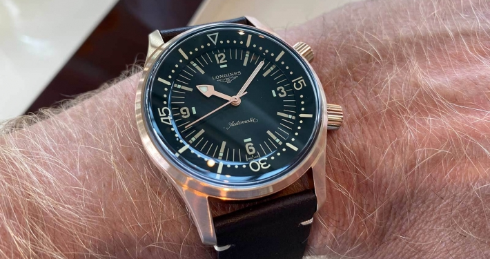 ONGINES Lgend Diver Watch Bronze