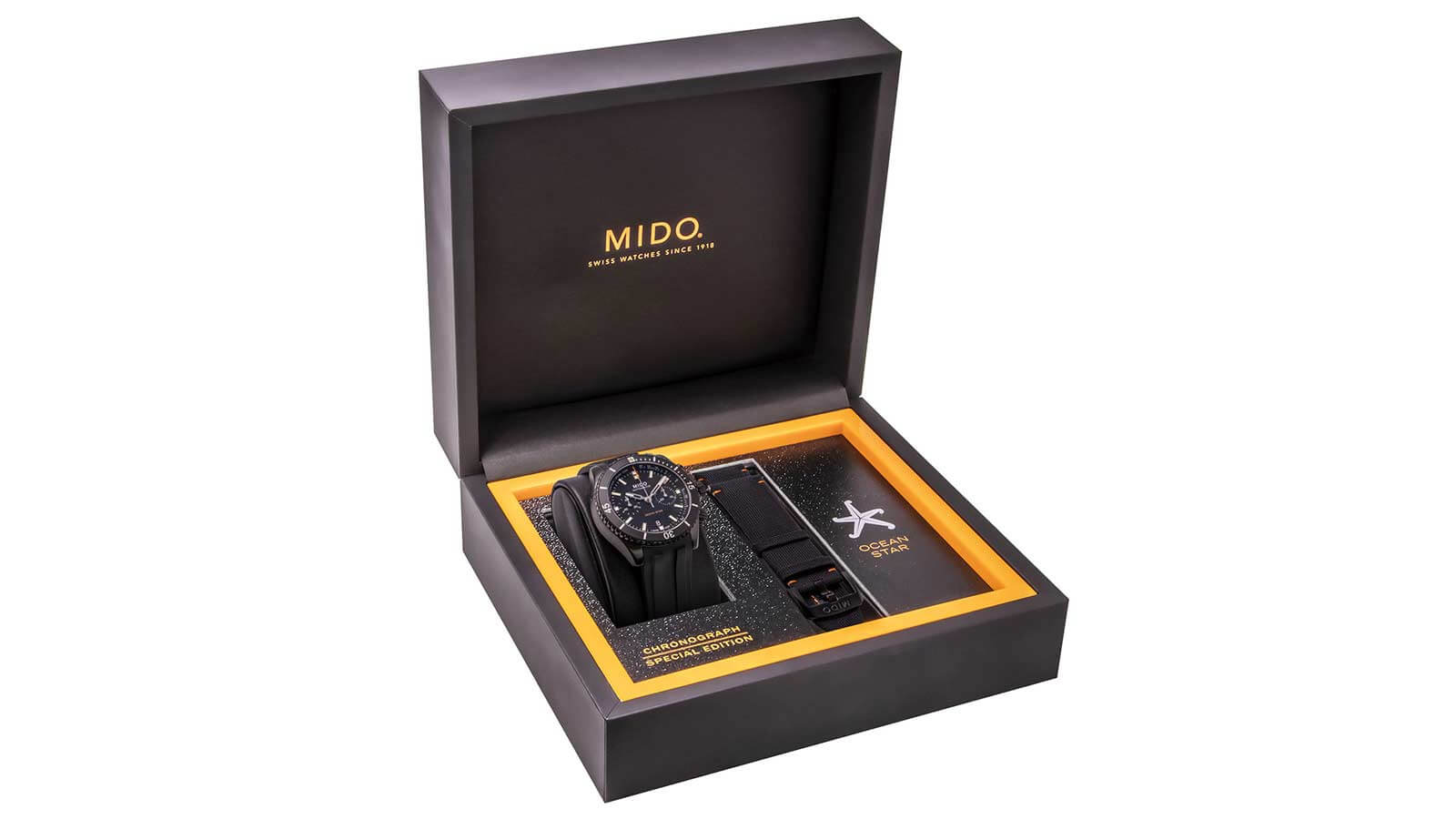 MIDO Ocean Star Chronograph in Präsentationsbox